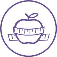 Learn the Basics | Apple with tape measure