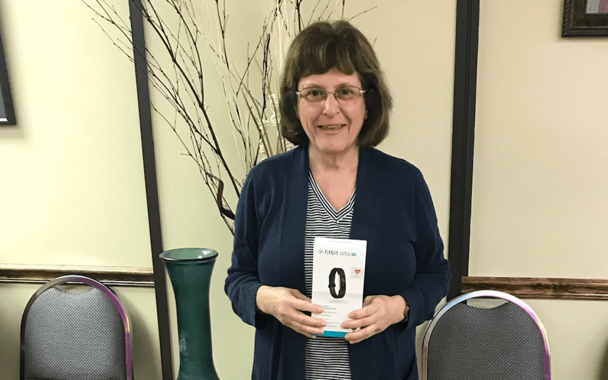 Susan Fitbit Giveaway Winner