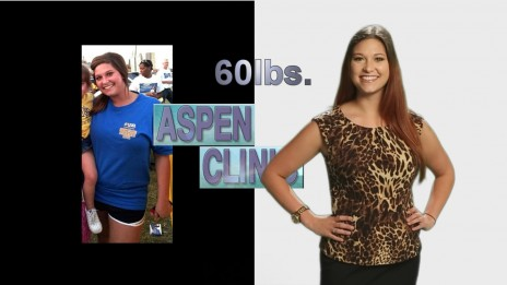 Lost 60 lbs Weight Loss Before and After Picture Woman